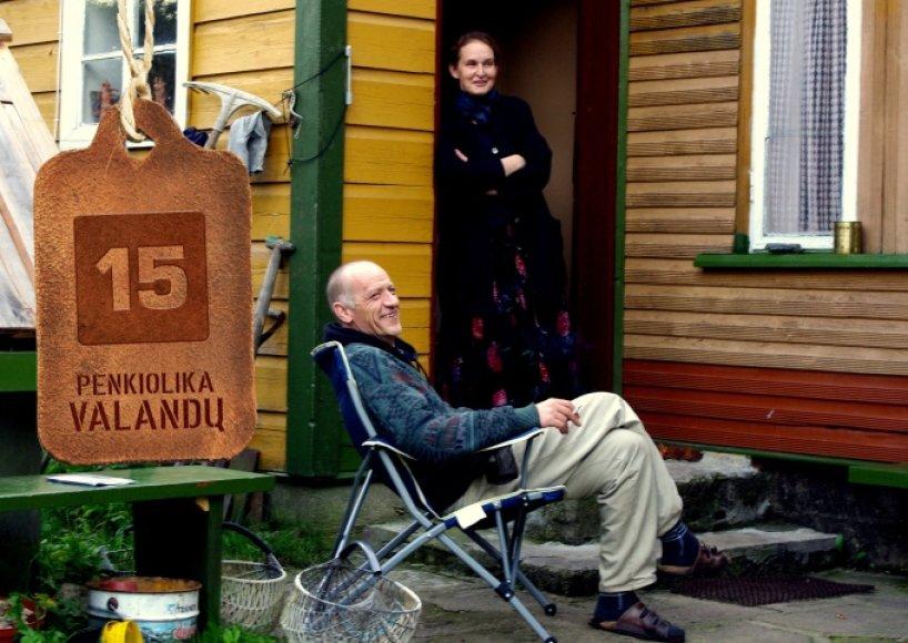 Nomeda ir Šarūnas Saukos daugiau kaip du dešimtmečius gyvena ir dirba Dusetose.