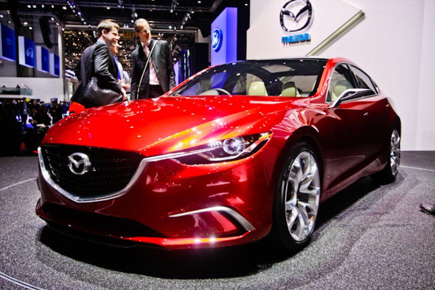 """""""Mazda Takeri"""" konceptas"""