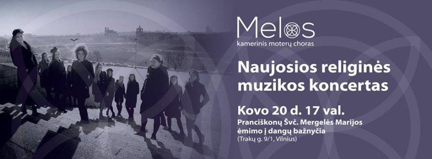 Naujosios religinės muz. koncertas