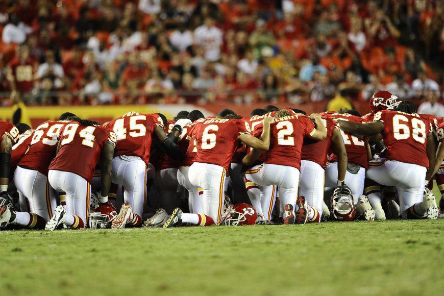"""AFP/""""Scanpix"""" nuotr./""""Chiefs"""" komanda"""