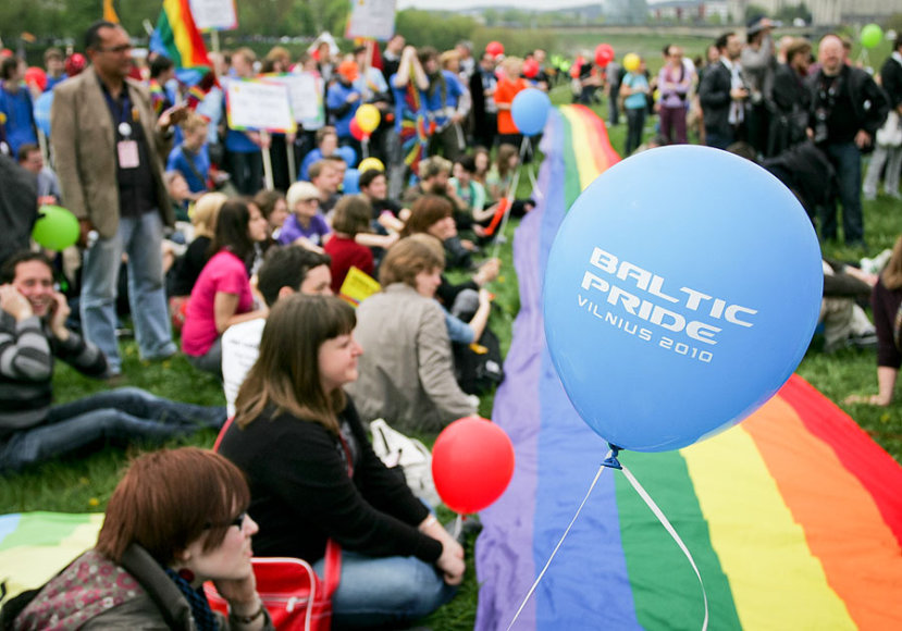 Baltic Pride 2010 akimirka