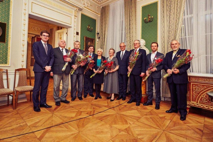 Asmeninio archyvo nuotr./Penki Lietuvos kultūrininkai ir karininkas įvertinti Lenkijos valstybės apdovanojimais