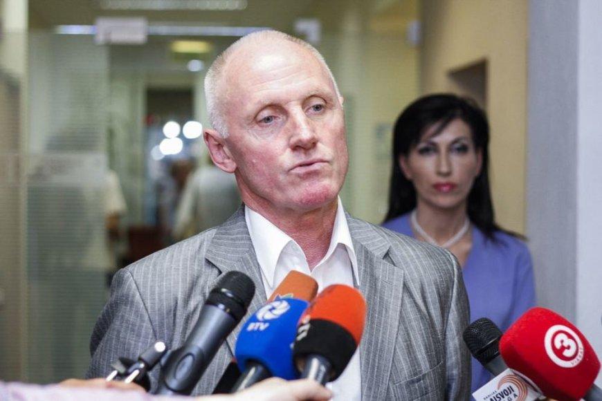 Geologijos tarnybos vadovas Juozas Mockevičius