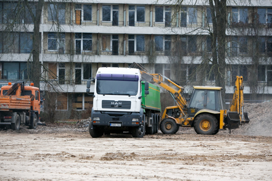Statybos Druskininkuose