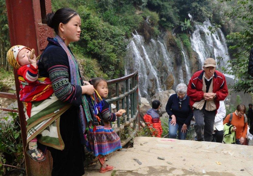 Hmong genties moteris