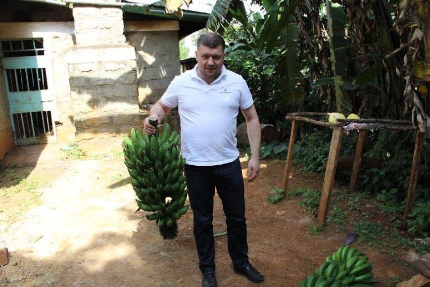Gražvydas Vilčinskas kavos kelionėje Kenijoje