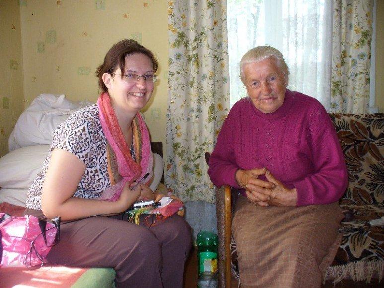 Jurga Sadauskienė ir Cecilija Girtienė
