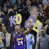 Kobe Bryantas atsisveikino su Klivlendu