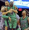 NBA rungtynės: traumos ir pergalės džiaugsmas