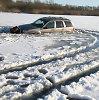 77 metų vairuotoja įlūžo, per klaidą užvažiavusi ant Ontarijo ežero ledo