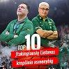 Kieno rankose Lietuvos krepšinis? Įtakingiausių krepšinio asmenybių TOP 10