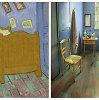 Nakvynės kaina itin tiksliai atkurtame Vincento van Gogho kambaryje – vos 10 dolerių už naktį