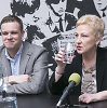 Irena Degutienė pasveikino Gabrielių Landsbergį laimėjus konservatorių partijos pirmininko rinkimus